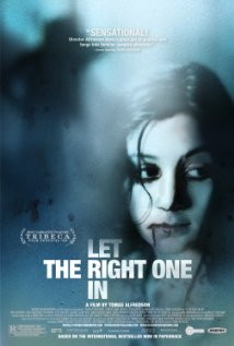 Let the right one in promotional poster